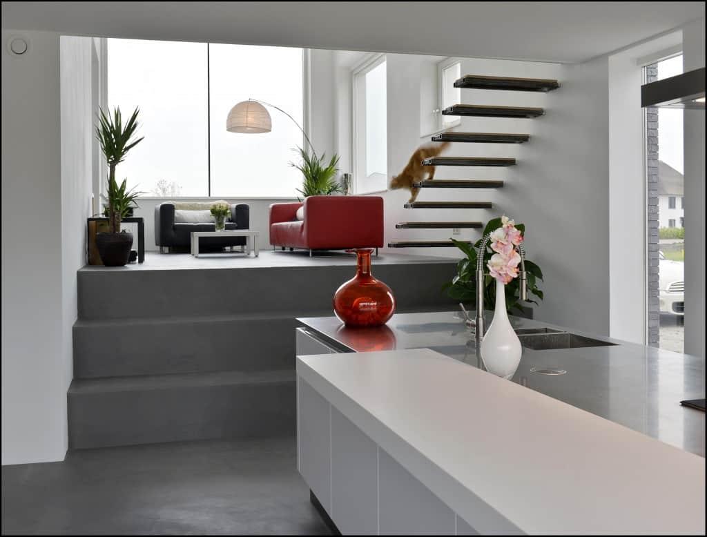 betondesign grijs