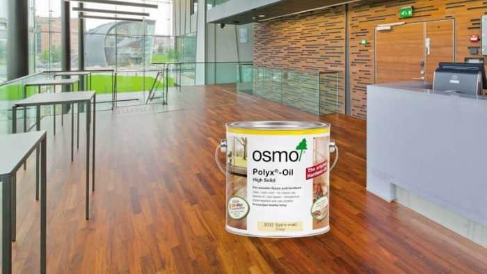 Vloeronderhoud Osmo onderhoudsolie naturel
